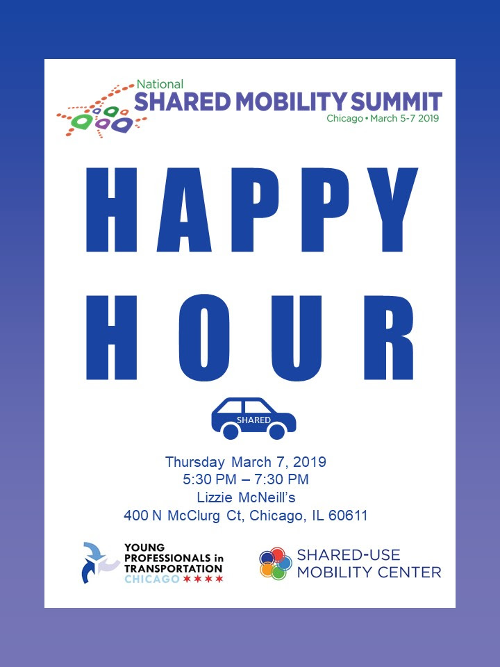 Shared Mobility Summit Happy Hr 2019 – Young Professionals in